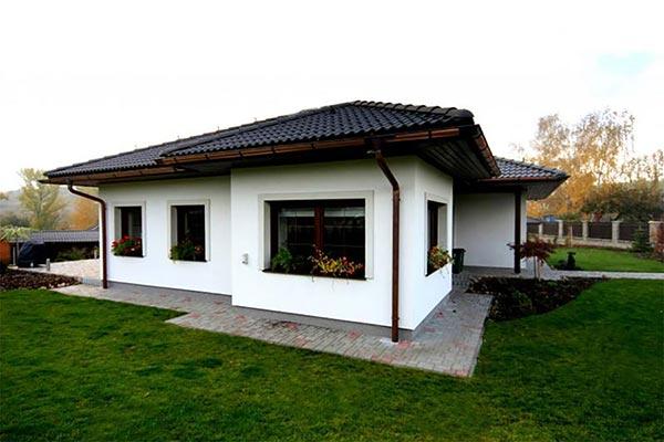 Moderný bungalov očami mladých architektov