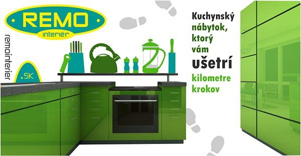 Kuchynský nábytok do bytu