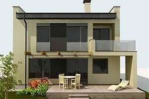 Informačné zdroje, Rekonštrukcia domu