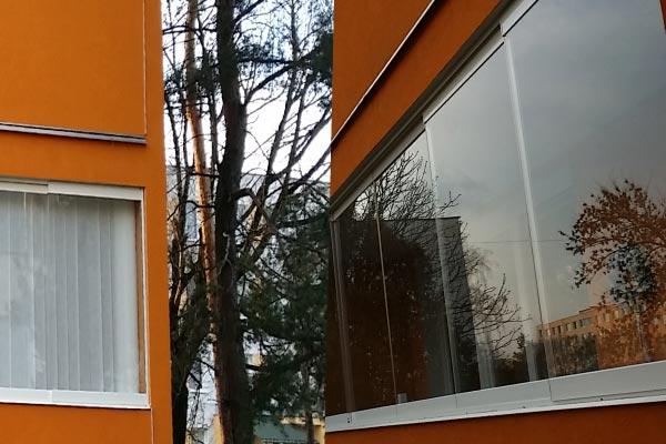 Zasklievanie loggií a iných stavebných otvorov